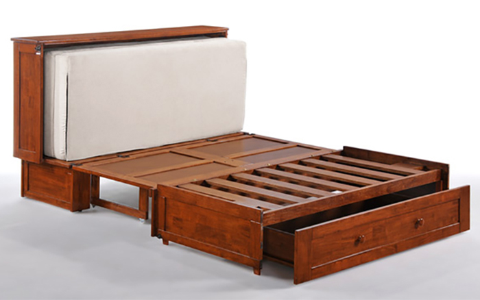 double purpose cupboard bed frame