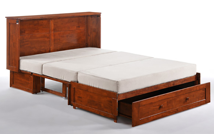 double purpose cupboard bed