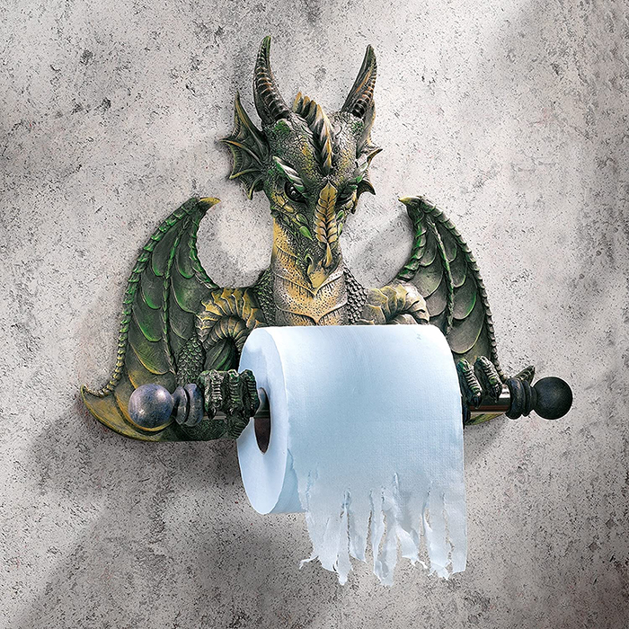 dragon tissue dispenser