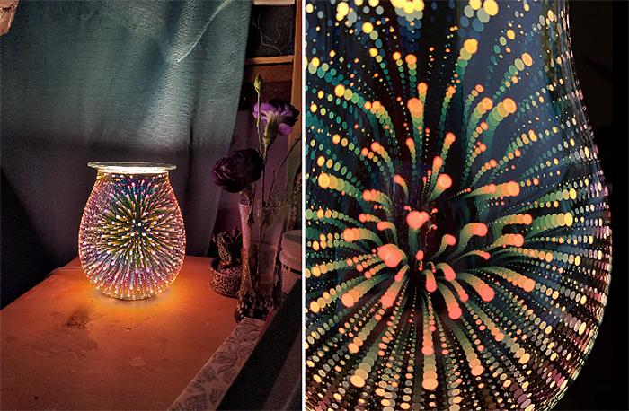 electric wax melt warmer spectacular display