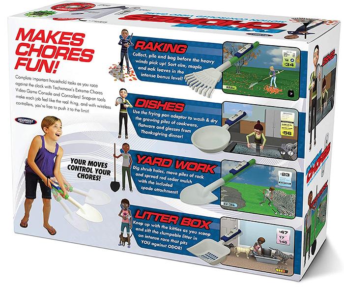 extreme chores video game prank gift box