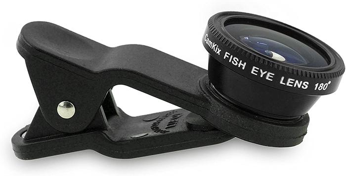 fisheye lenses clip on