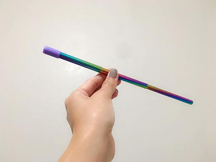 flyby resip straw telescopic design