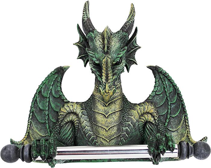 gothic dragon tissue dispenser