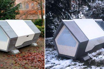 homeless sleeping pods