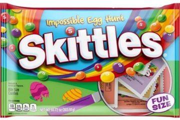impossible egg hunt skittles