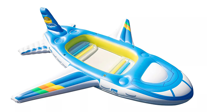 inflatable airplane float