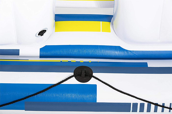 inflatable boat grab ropes