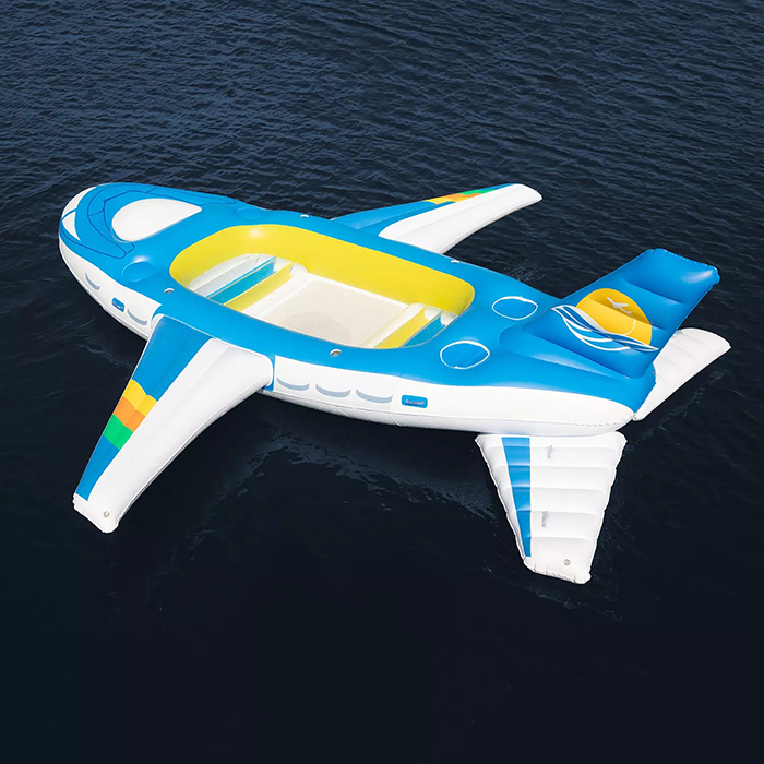 inflatable float airplane design
