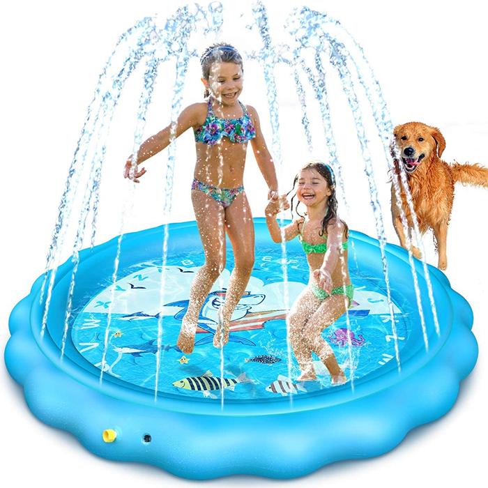 kiddie sprinkler pool