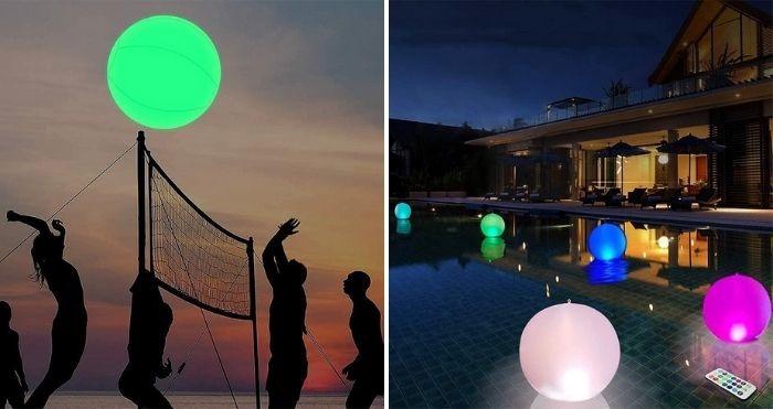 led beach ball