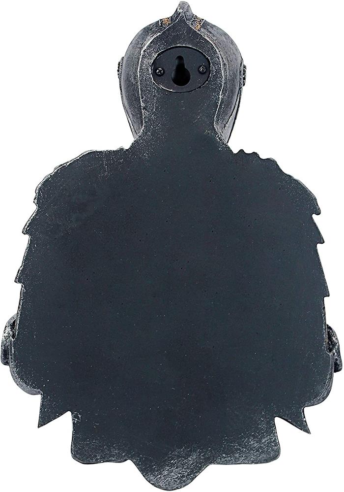 medieval knight toilet paper holder keyhole slot