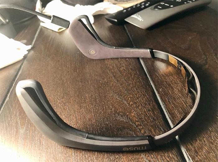meditation tracker headband wearable