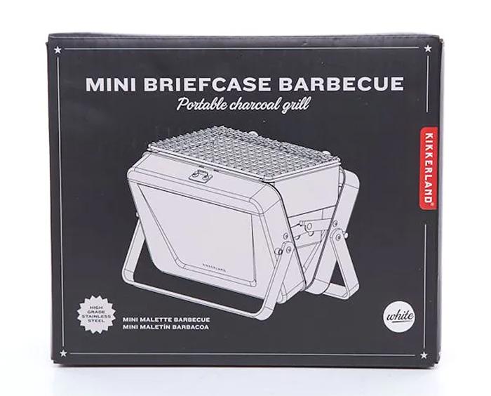 mini briefcase barbecue box