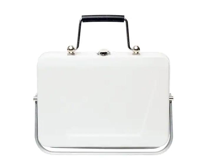 mini briefcase barbecue grill