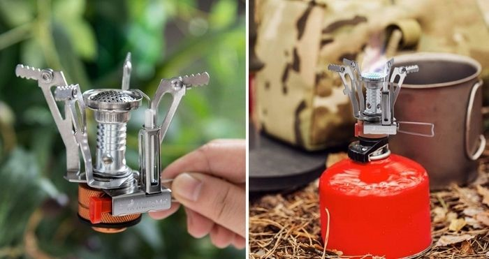 mini camping stove