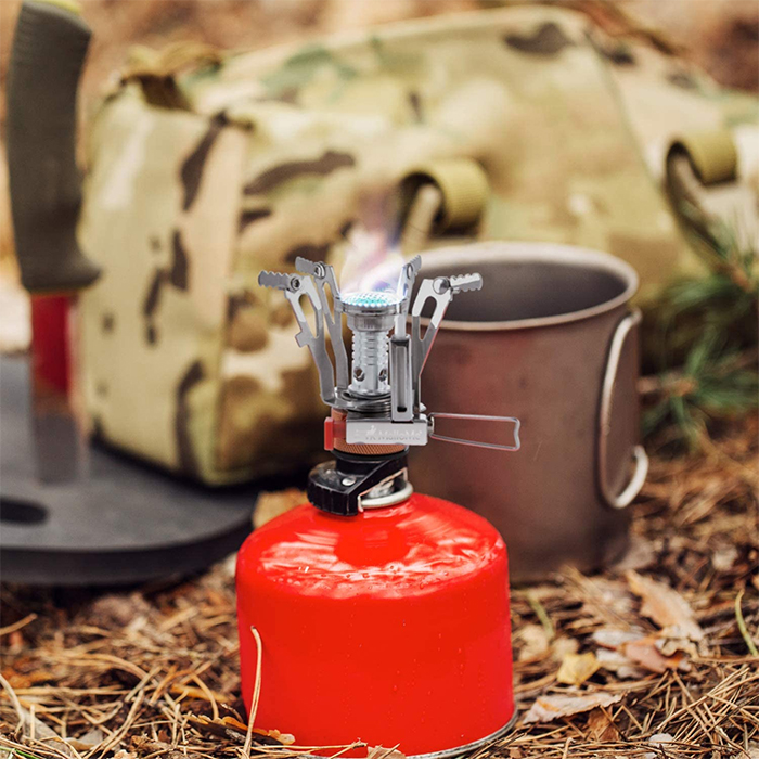 mini camping stove fuel canister