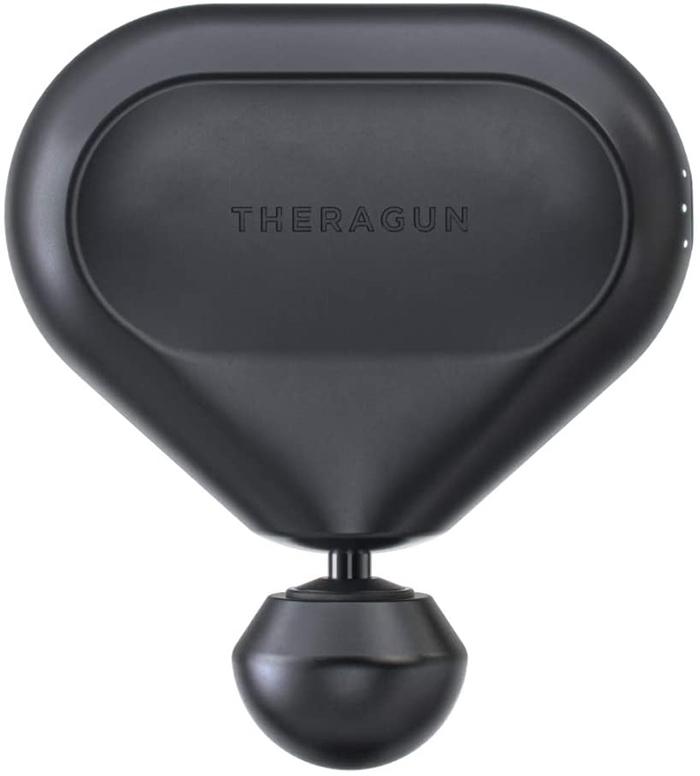 mini massage gun black