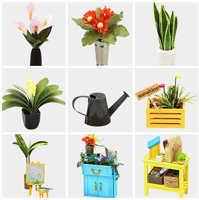 miniature green house plants