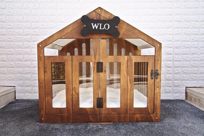 modern dog house