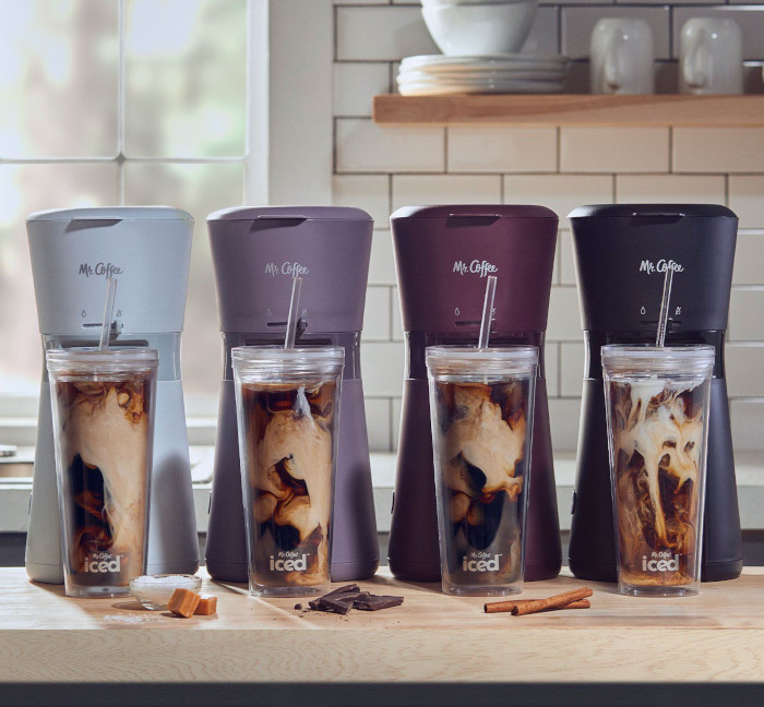mr coffee iced coffee maker in various colors