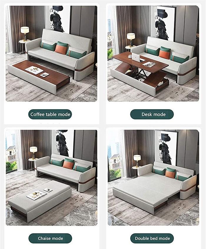 multifunctional sofa bed modular design