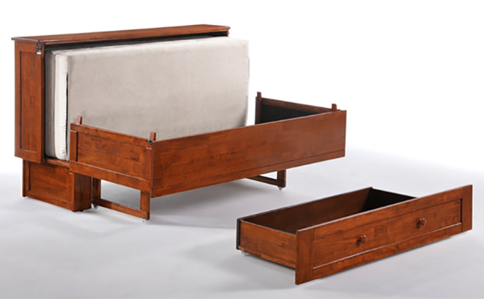 murphy cabinet bed front