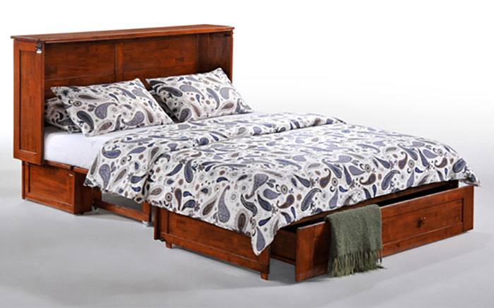 murphy cabinet bed full transformation