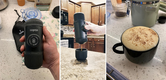 nanopresso coffee machine