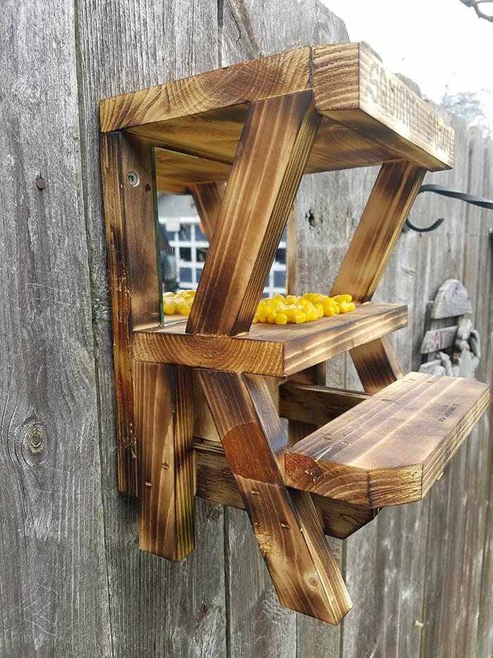 oldsaybrookwoodcraft outdoor critter feeder