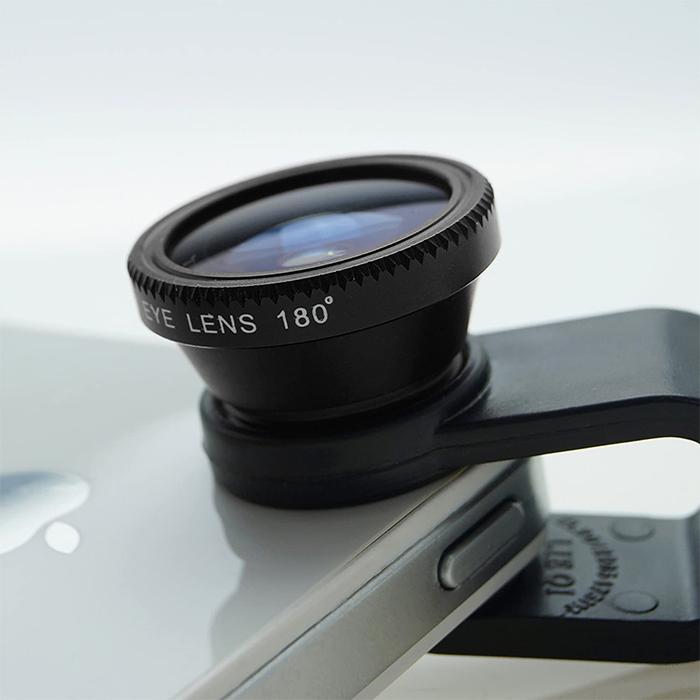 phone camera lens kit clip on