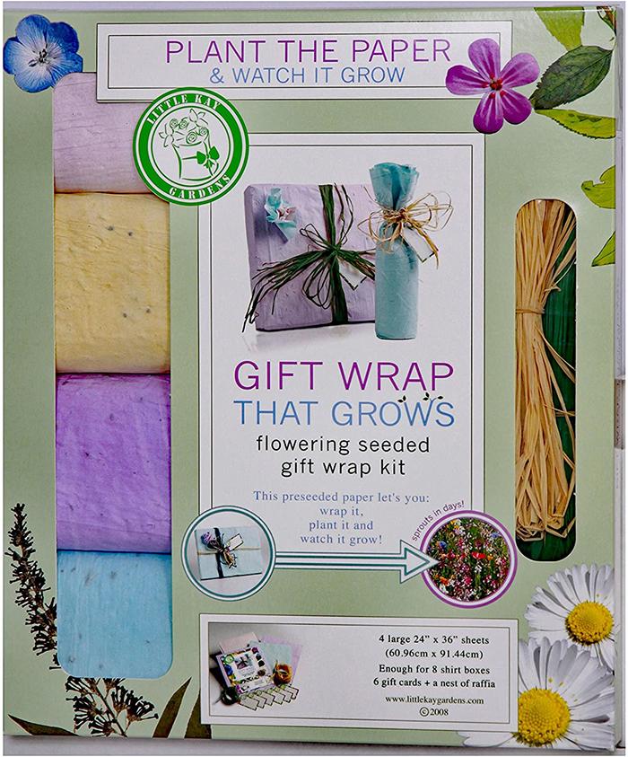 plantable gift wrap