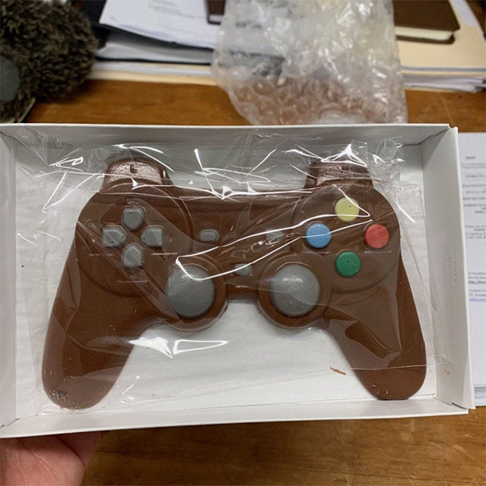 playstation inspired confectionery box