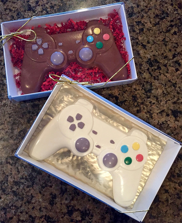 playstation inspired confectionery