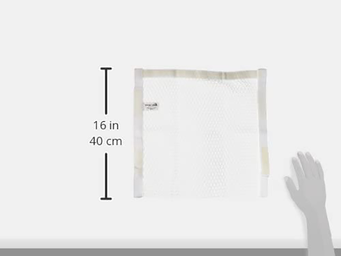 polyester wash and dry bag for sneakers dimensions