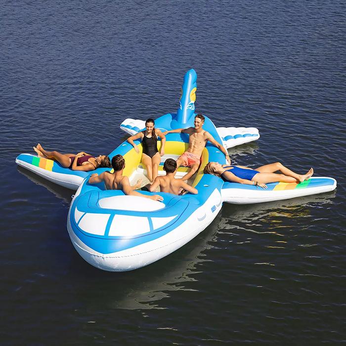 pool float aircraft design