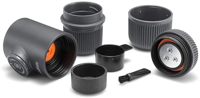 portable espresso maker components