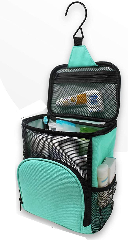 portable shower caddy aqua
