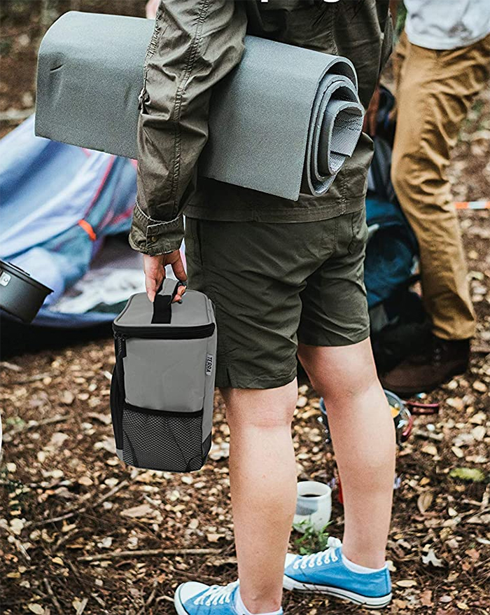 portable shower caddy camping