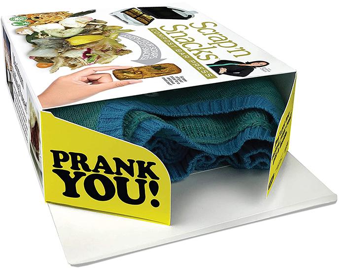 prank gift box gag item