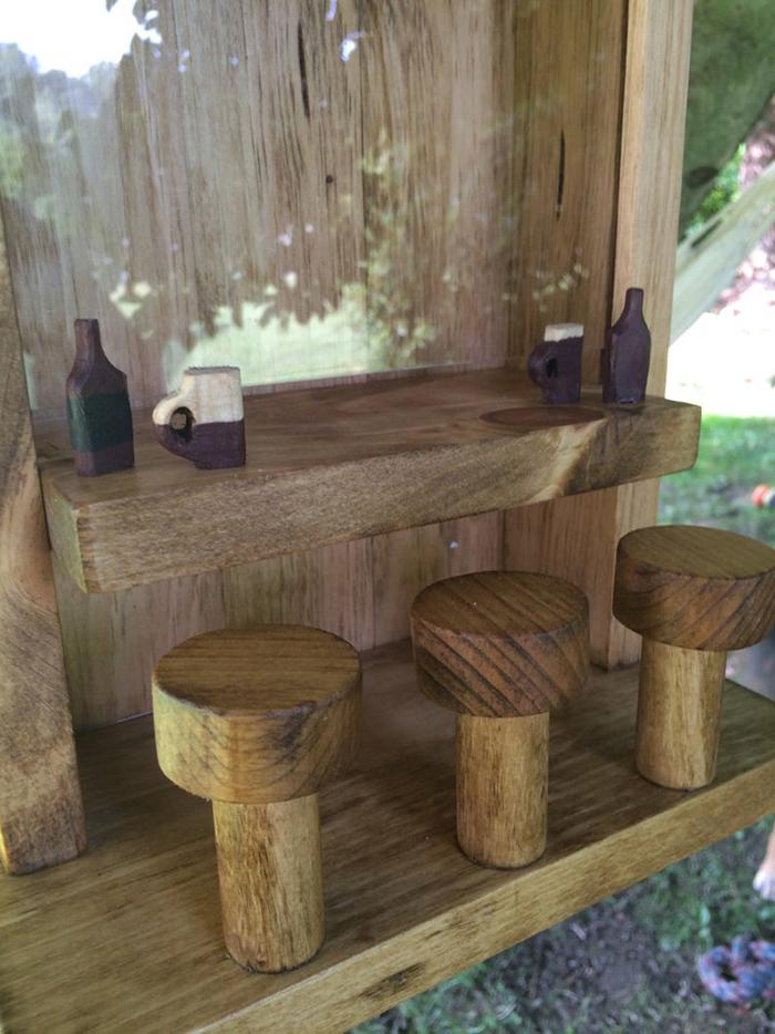puzakcustomcrafts squirrel saloon