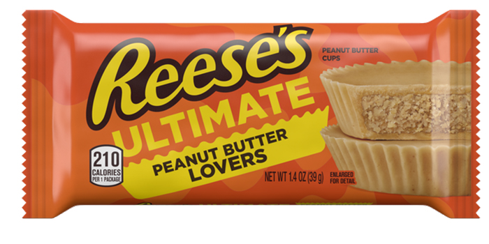 reese's ultimate peanut butter lovers cups packaging