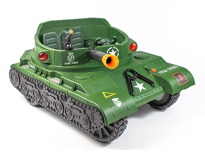 ride on electric tank for kids
