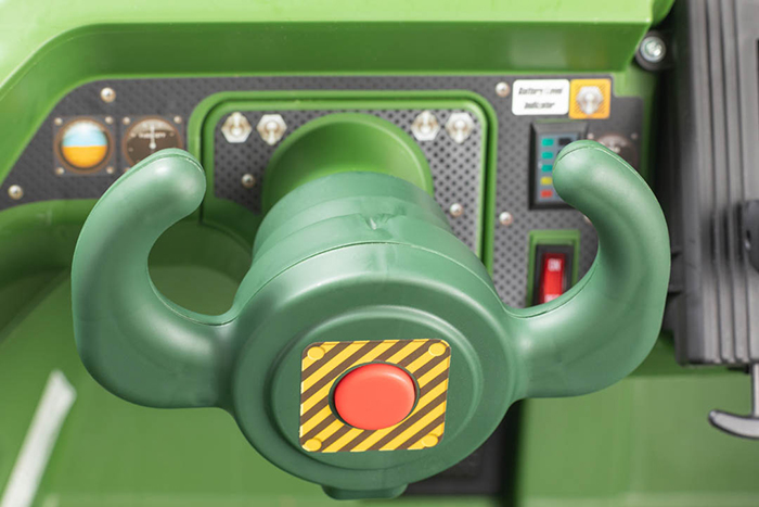 ride on military vehicle cannon blaster button