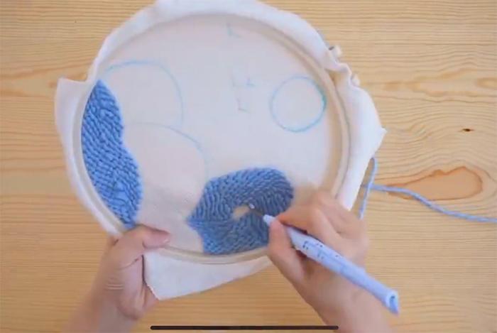 rug hooking craft