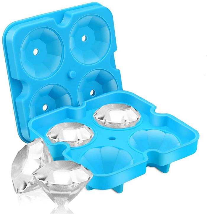 silicone mold blue