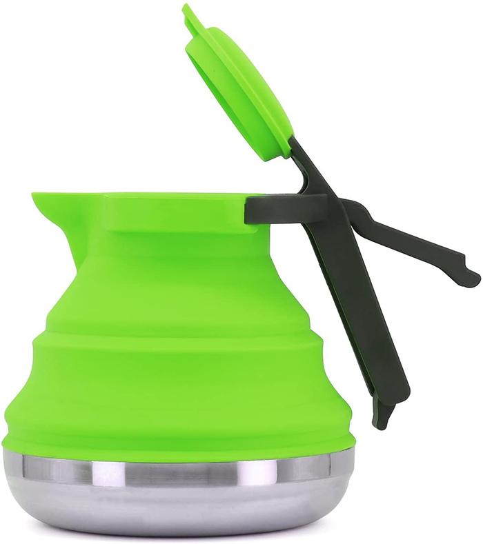 silicone teapot foldable silicone