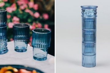 stackable drinking glasses