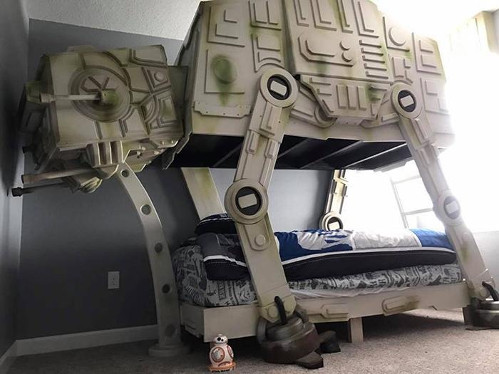 star wars at-at walker bed by tiny town studios