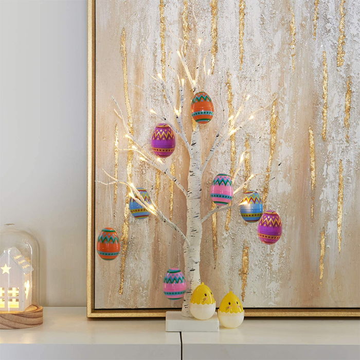 tabletop easter egg tree